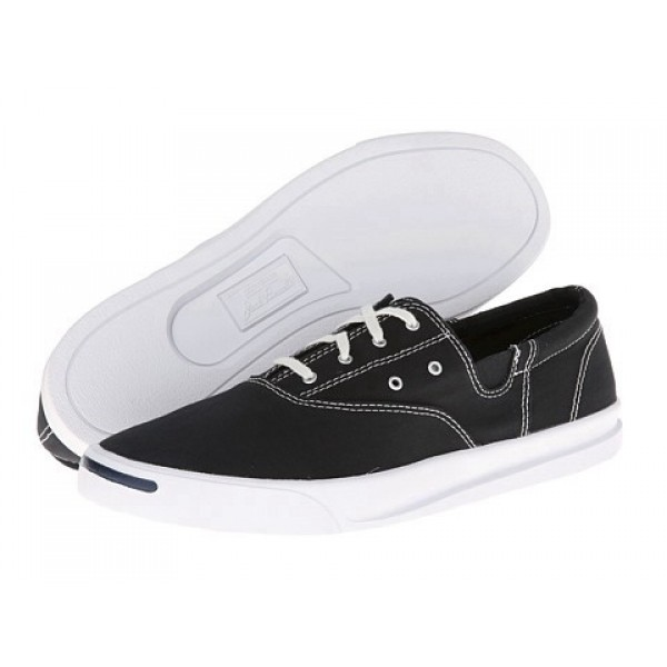 Converse Jack Purcell Jeffrey CVO Ox Black White Men's Shoes
