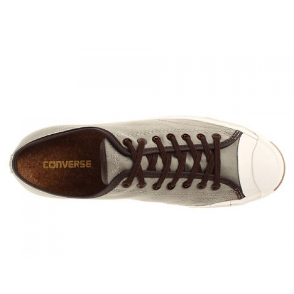 Converse Jack Purcell Jack Ox Old Silver White Men's Shoes