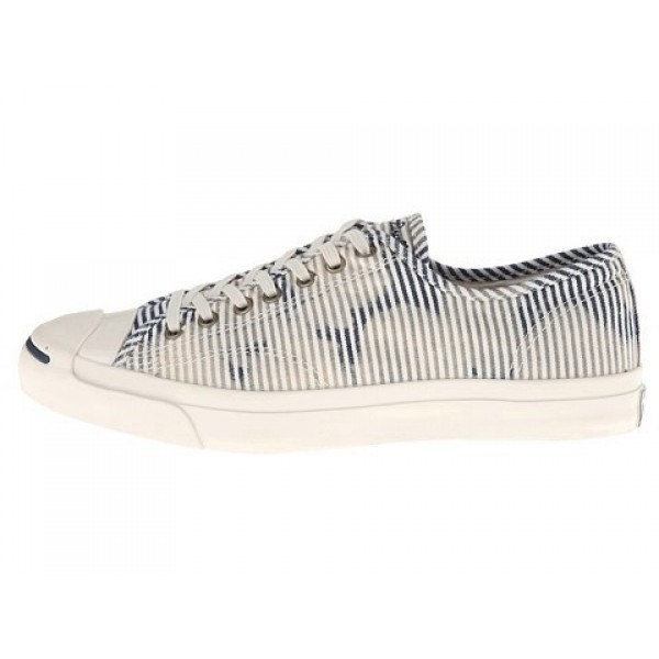 Converse Jack Purcell Jack Ox Egret Dozar Blue Men's Shoes