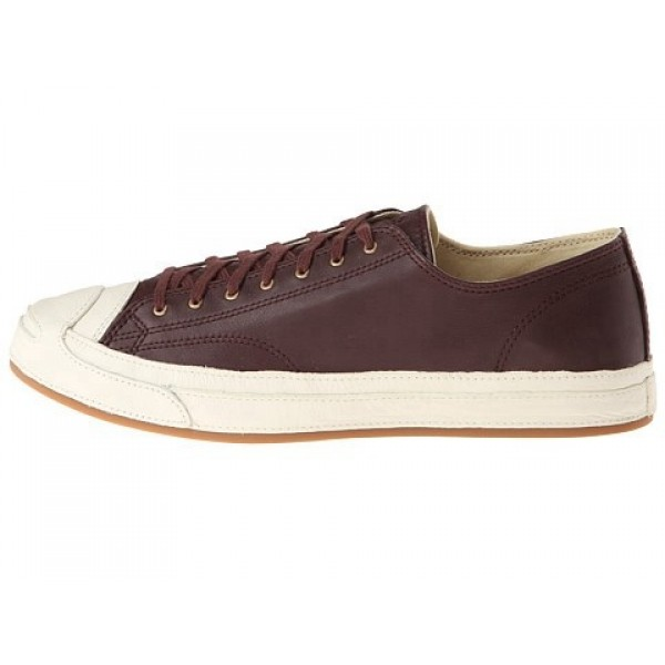 Converse Jack Purcell Post Applied Ox French Roast Egret Men's Shoes