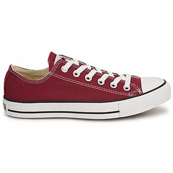 Converse All Star Ox Bordeaux Men's Shoes