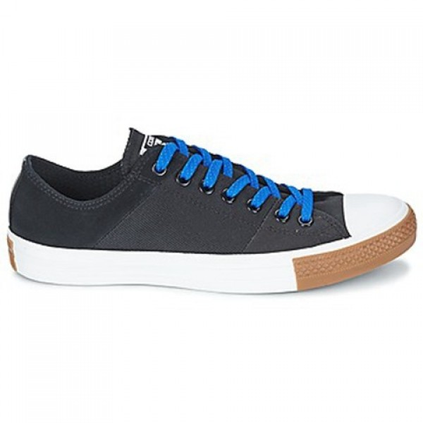 Converse All Star Tri-Panel Material Mix Ox Black Men's Shoes
