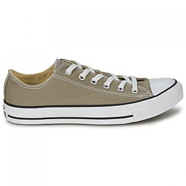 Converse All Star Seasonal Ox Old Silver Men's Sho...