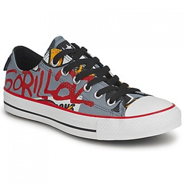 Converse All Star Gorillaz Ox Lead Men's Shoes