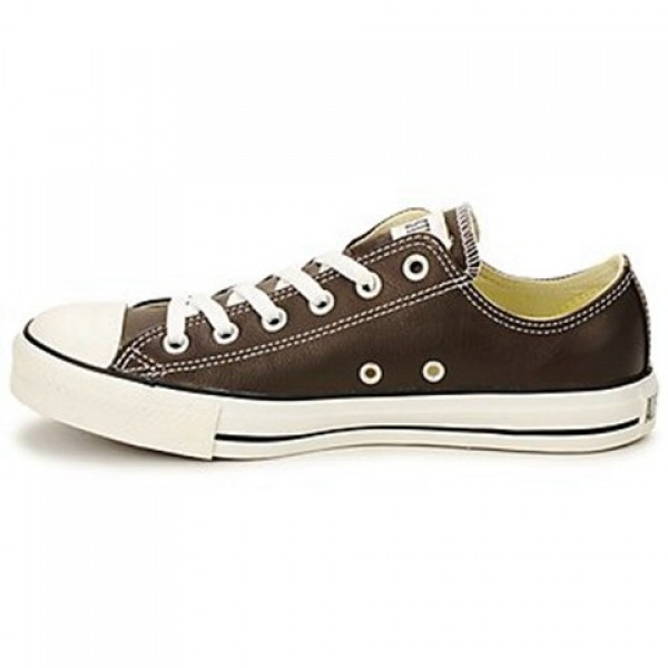 Converse All Star Leather Ox Brown Men's Shoes