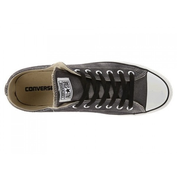 Converse Chuck Taylor All Star Tie Dye Suede Ox Old Silver Black Men's Shoes