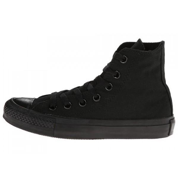 Converse Chuck Taylor All Star Core Hi Monochrome Black Men's Shoes