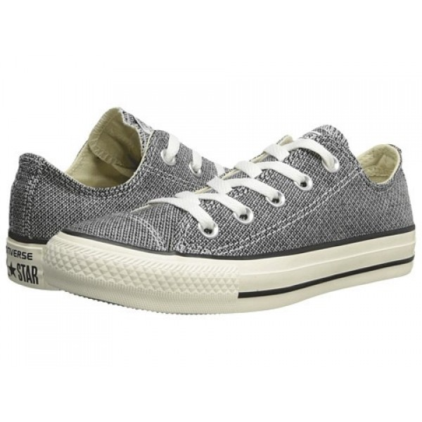 Converse Chuck Taylor All Star Woven Ox Black Egret Men's Shoes