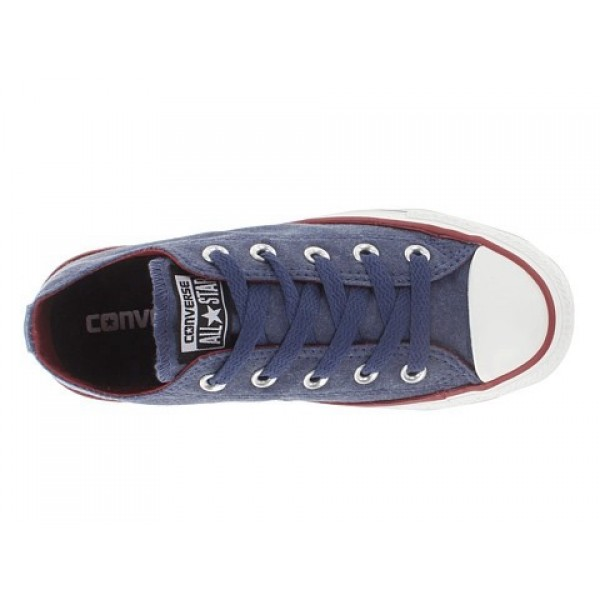 Converse Chuck Taylor All Star Vintage Wash Ox Ensign Blue Men's Shoes