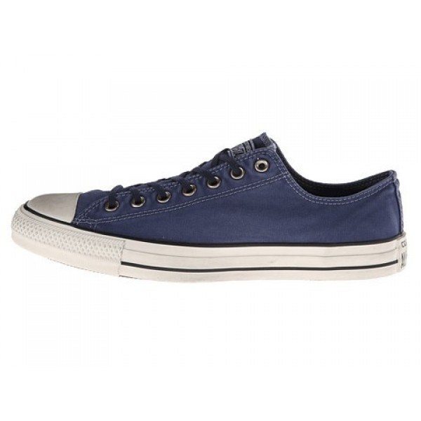 Converse Chuck Taylor All Star Washed Canvas Ox Navy Men's Shoes