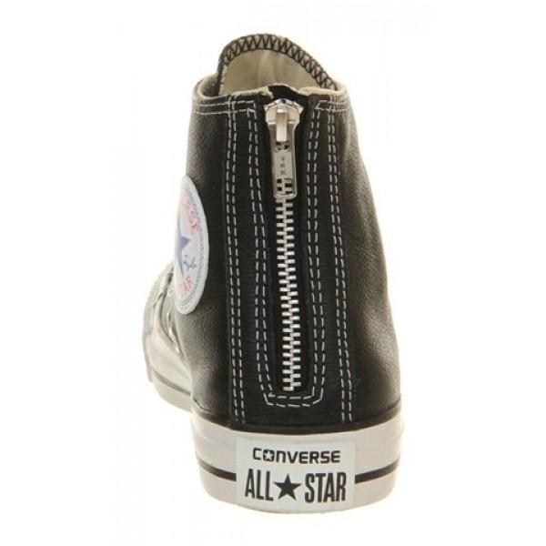 Converse Ctas Back Zip Black Unisex Shoes