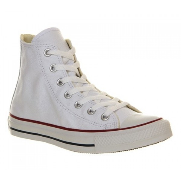 Converse Ctas Back Zip White Leather Exclusive Uni...