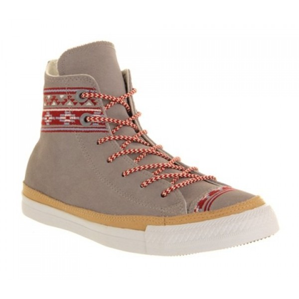 Converse Ctas Hi Premium Grey Mountain Stitch Wome...