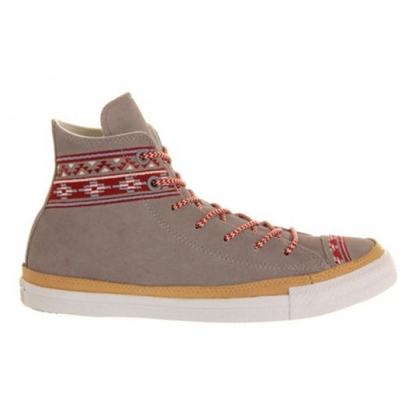 Converse Ctas Hi Premium Grey Mountain Stitch Women's Shoes