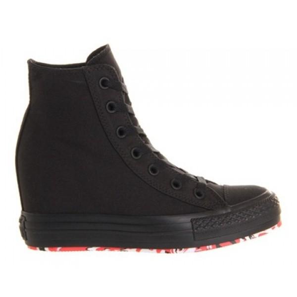 Converse Ctas Platform Plus Black Mono Women's Shoes