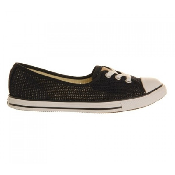 Converse Dance Lace Black Crochet Exclusive Women's Shoes