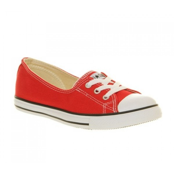Converse Dance Lace Red Women's Shoes