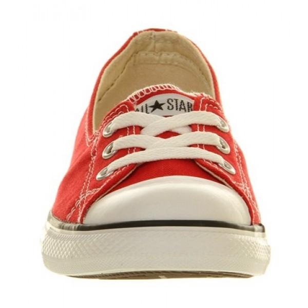 Converse Dance Lace Red Women's Shoes