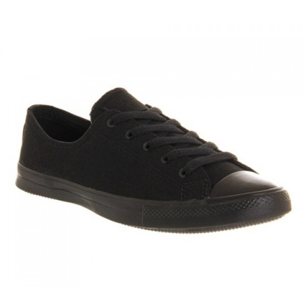 Converse Ctas Fancy Black Mono Exclusive Women's S...