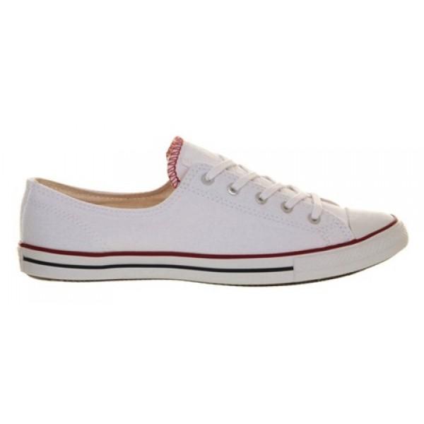 Converse Ctas Fancy Optical White Exclusive Women's Shoes