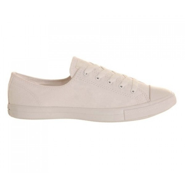 Converse Ctas Fancy White Mono Exclusive Women's Shoes