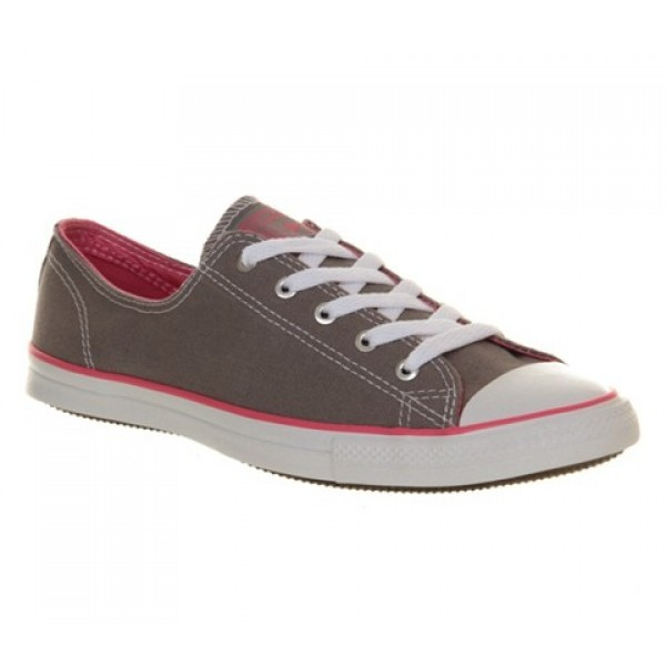 Converse Ctas Fancy Grey Pink Exclusive Women's Sh...