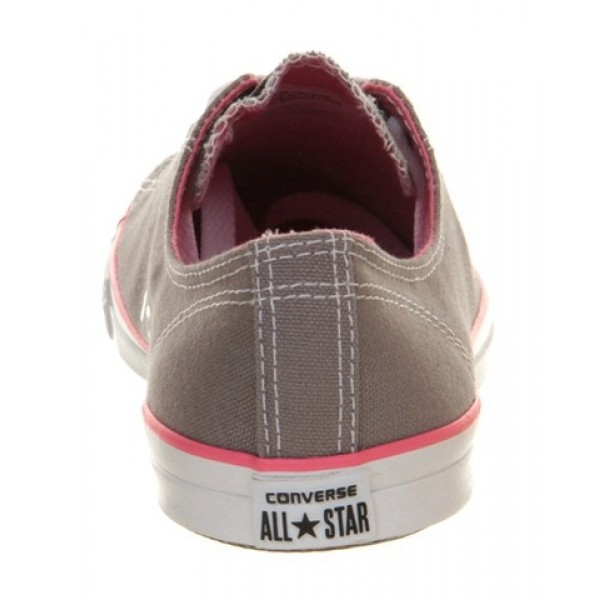 Converse Ctas Fancy Grey Pink Exclusive Women's Shoes
