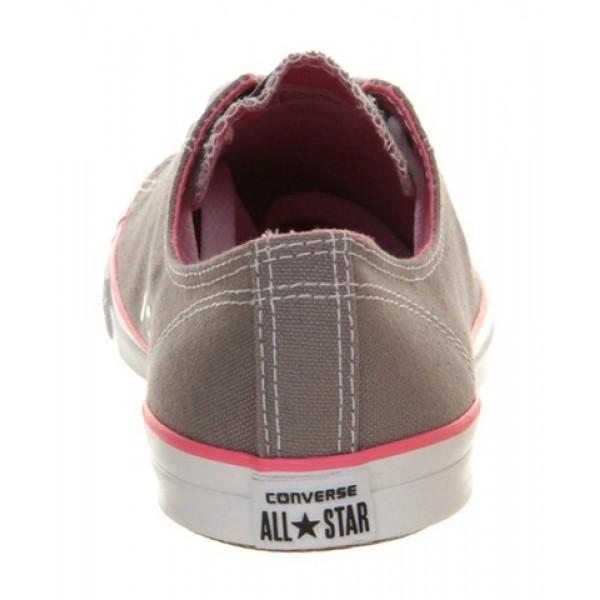 Converse Ctas Fancy Grey Pink Exclusive Women's Shoes