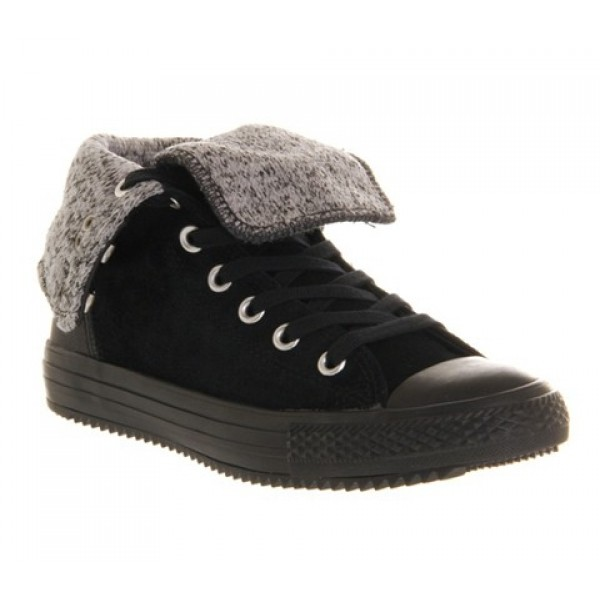 Converse Ctas Elsie Rolldown Black Women's Shoes