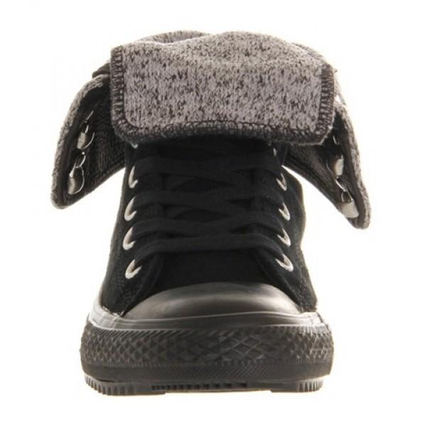 Converse Ctas Elsie Rolldown Black Women's Shoes