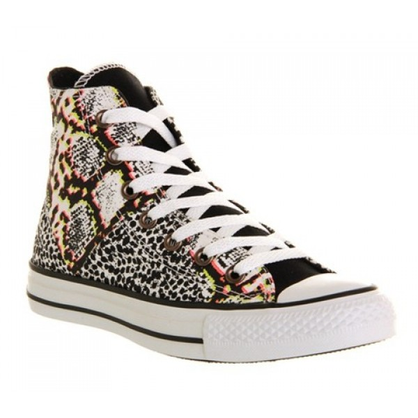 Converse Ctas Multi Panel White Multi Women's Shoe...