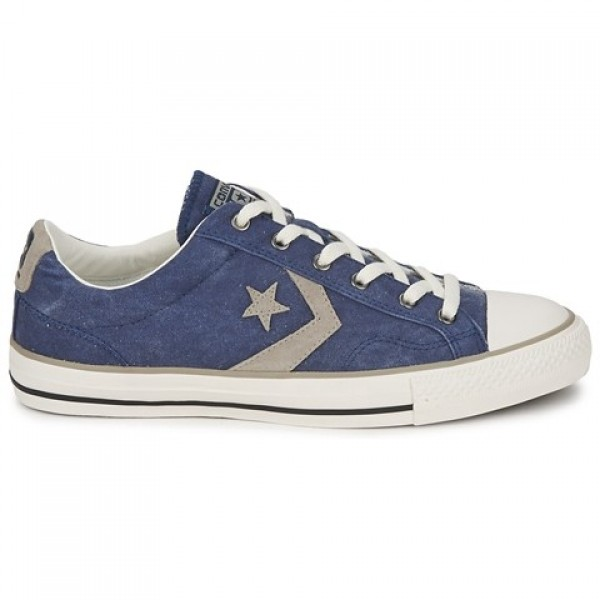Converse Star Player Ox Blue Grey Women's Shoes