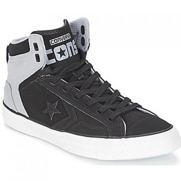 Converse Star Player Plus tonal Black Grey Men's Shoes