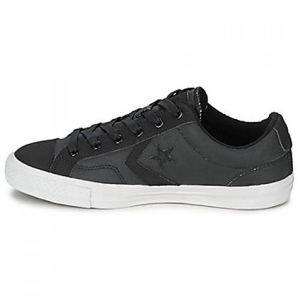 Converse Star Player Wax Tech Canvall Star Ox Black Men's Shoes