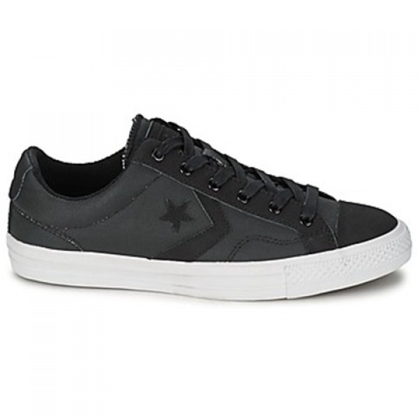 Converse Star Player Wax Tech Canvall Star Ox Blac...