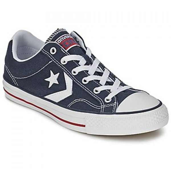 Converse Star Player Core Canv Ox Marine White Men's Shoes