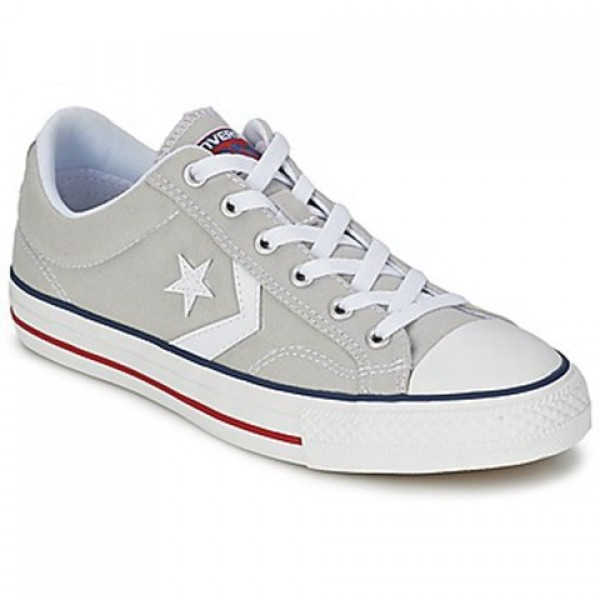 Converse Star Player Core Canv Ox Grey Clear White Men's Shoes