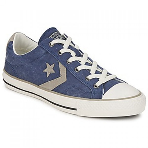 Converse Star Player Ox Blue Grey Men's Shoes