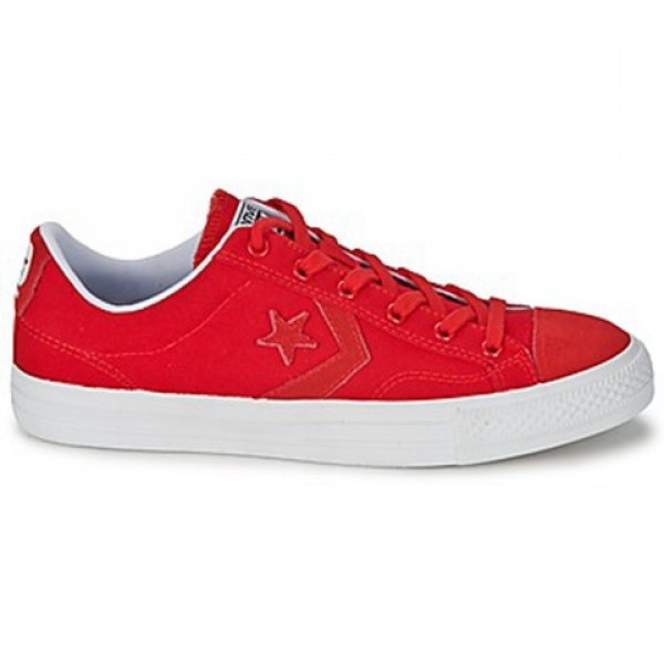 Converse Star Player Ox Red Men's Shoes