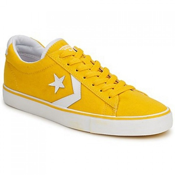 Converse Pro Leather Canvas Ox Yellow Men's Shoes