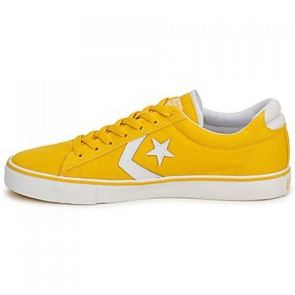 Converse Pro Leather Canvas Ox Yellow Women's Shoes