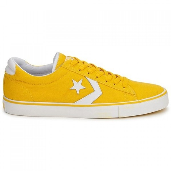 Converse Pro Leather Canvas Ox Yellow Women's Shoe...