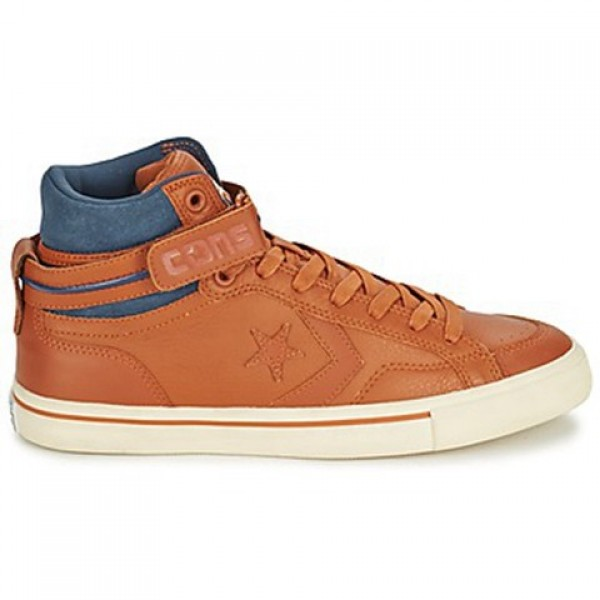 Converse Pro Blaze Plus Brown Marine Men's Shoes