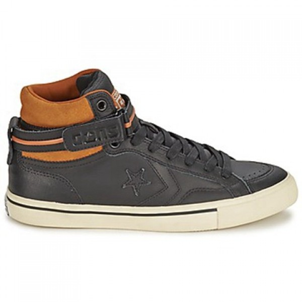 Converse Pro Blaze Plus Black Brown Men's Shoes