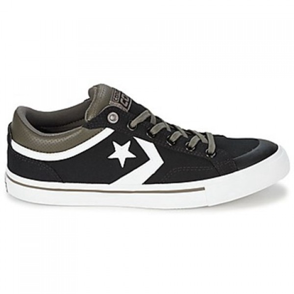 Converse Pro Blaze Black Grey Men's Shoes